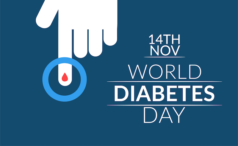 14 november is de Wereld Diabetes Dag