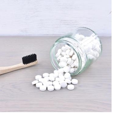 tandpasta tabletjes